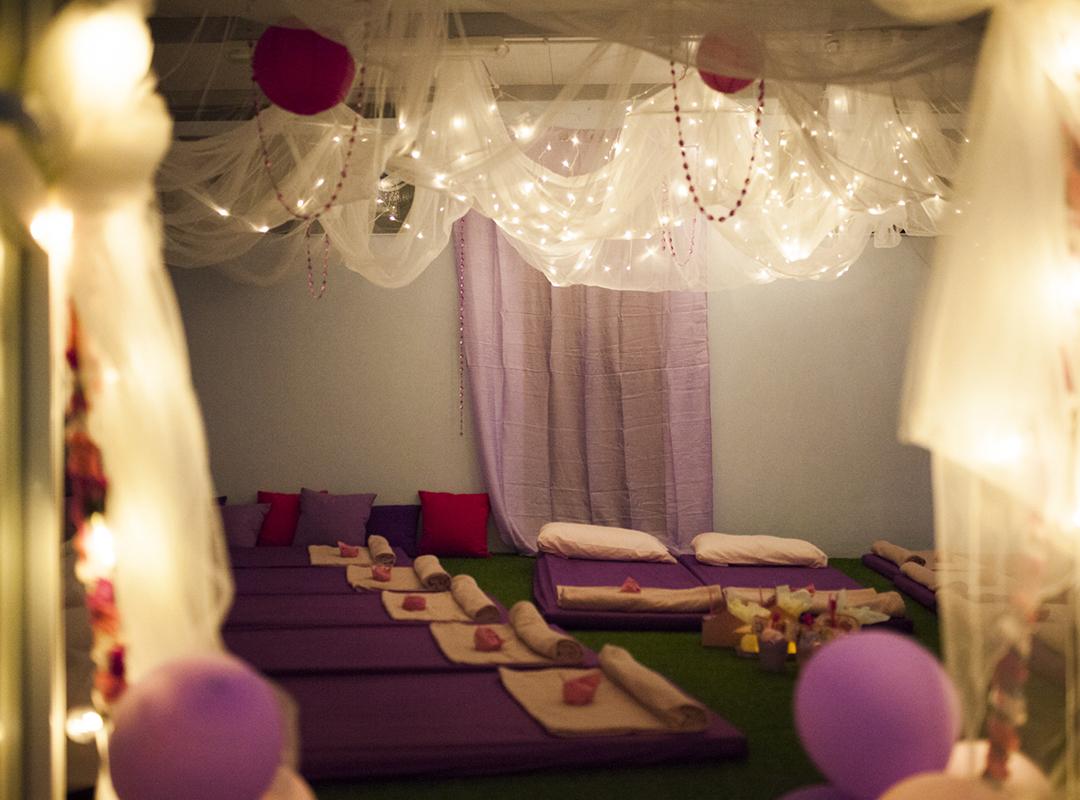 Fiestas de pijamas para niños Tenerife
