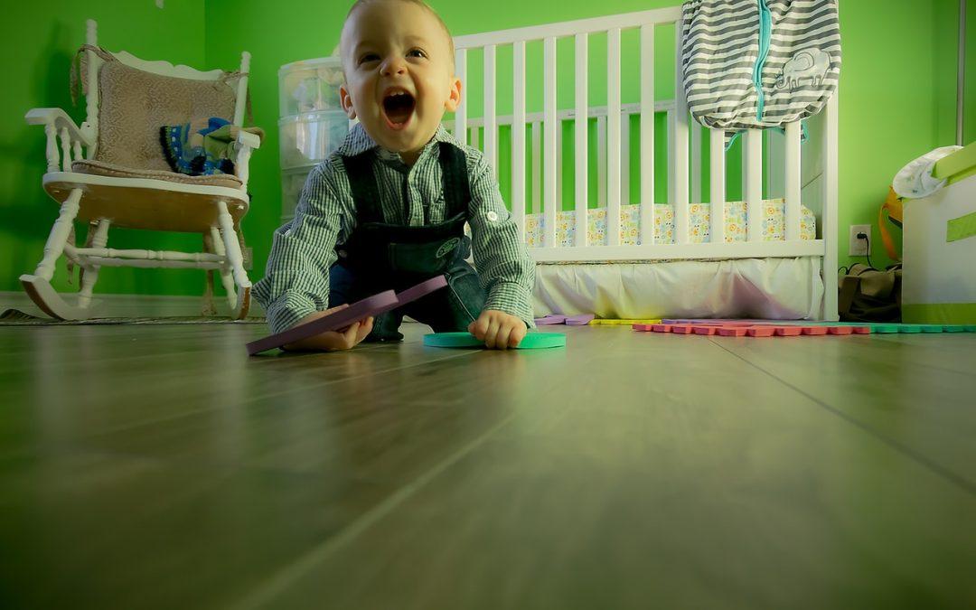 Psicomotricidad en el gateo del bebé